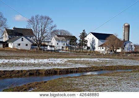 Lancaster Farm Houses and Silo