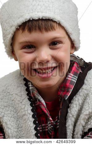 Hirt, Lächeln