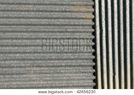 panel in asbestos  for roofs