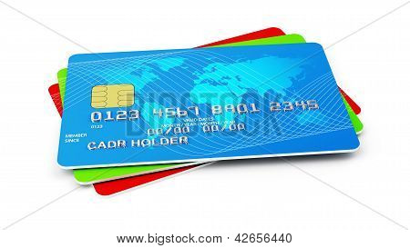 Credit Cards Stack