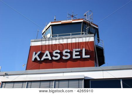 Tower Of Airport Kassel, Germany