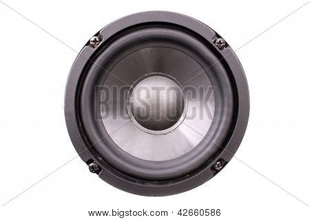 Photo of Black speaker front