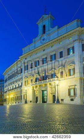 Palazzo Montecitorio Chamber Of Deputies
