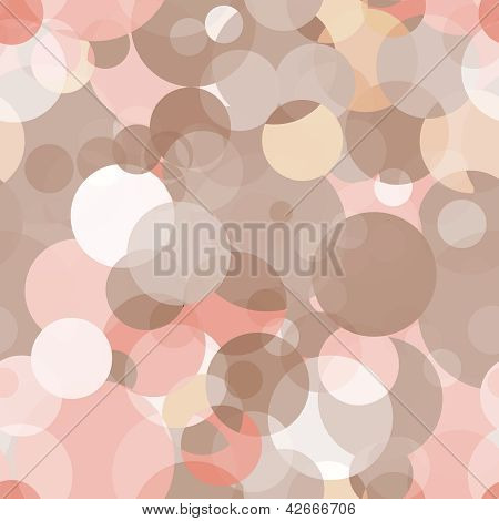 Simple Seamless Vector Pattern - Circles