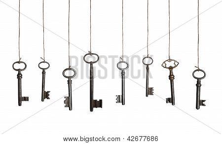 Hanging keys (XXXL)