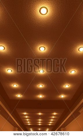 Decorative Lamps On The Ceiling