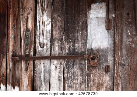 Old Grunge Door Lock