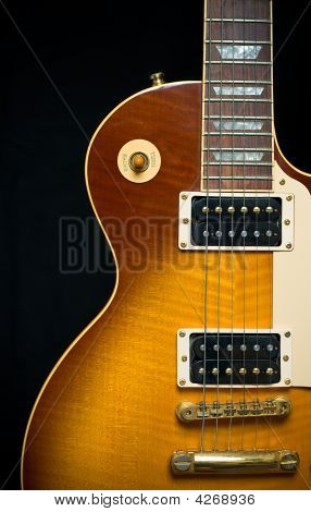 Classic Electric Guitar With Tobacco Honey Sunburst Finish