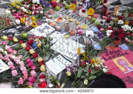 John Lennon Memorial In New York