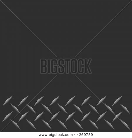 Vector Diamond Plate Border