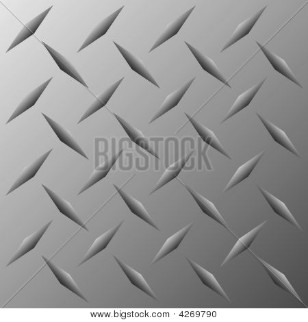 Vector Diamond Plate Texture