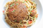 Spaghetti With Bolognese Sauce poster