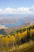 Overlooking Park City, Utah