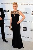 LOS ANGELES - FEB 24:  Anna Paquin arrives at the Elton John Aids Foundation 21st Academy Awards Vie