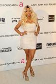 LOS ANGELES - FEB 24:  Nicki Minaj arrives at the Elton John Aids Foundation 21st Academy Awards Vie