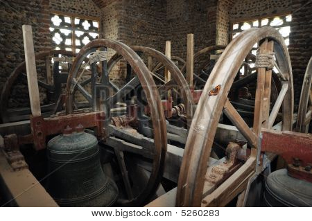Church Bells In Belfry