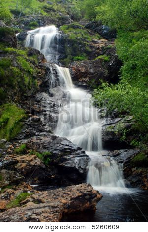 Highland Spring Waterfall