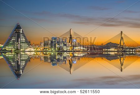 Aomori Japan skyline