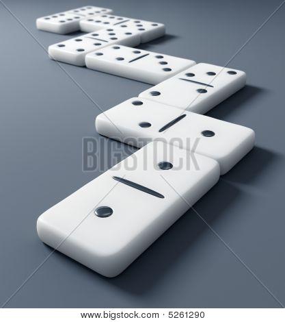 White Domino
