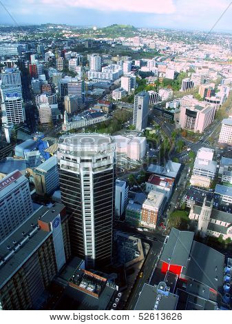 Downtown Auckland New Zealand