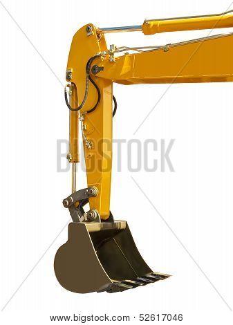 Big bucket excavator