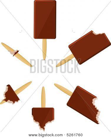 Ice-cream Circle Simple