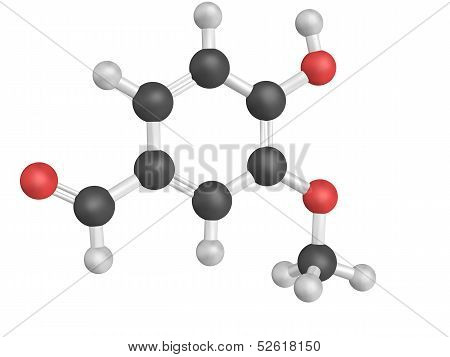 Chemical Structure Of Vanillin