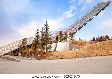 Ski Jumping Hill Holmenkollen