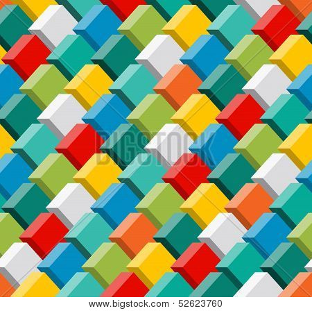 3d seamless pattern.