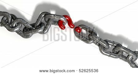 Chain Missing Link Question Mark