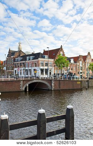 historical centre of  Haarlem, Holland