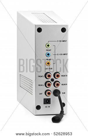 Speaker Connection Panel