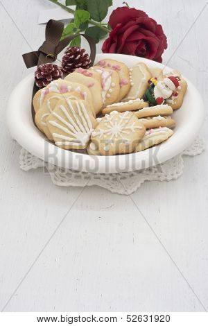 Star Shape Chrismtas Gingerbread