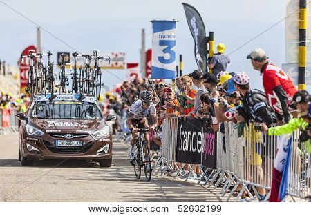 The Cyclist John Gadret