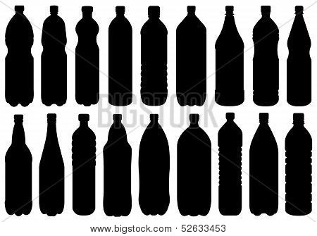 Set Of Different Bottles