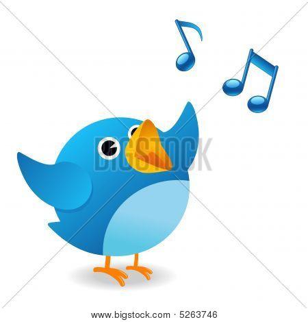 Pássaros cantando