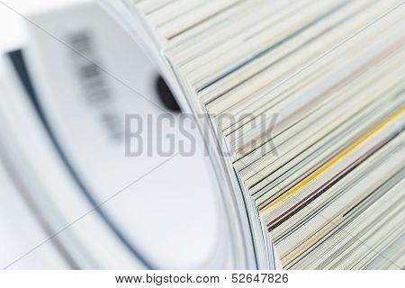 Pile Of Magazines, Shallow Dof
