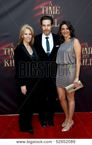 NEW YORK- OCT 20: Producers Daryl Roth (L), Eva Price (R) and director Ethan McSweeny attend the Broadway opening night of 'A Time To Kill' at The Golden Theatre on October 20, 2013 in New York City.