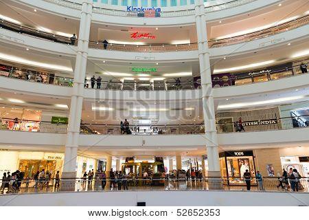 Shopping Mall Suria Klcc In Kuala Lumpur