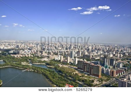 Bird's Eye View Of Beijing