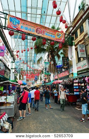 Chinatown Market In Kuala Lumpur
