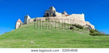 Rupea Fortress,medieval Landmark Of Transylvania