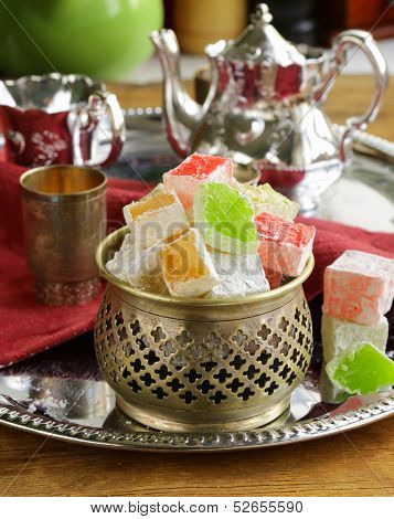 Turkish delight dessert