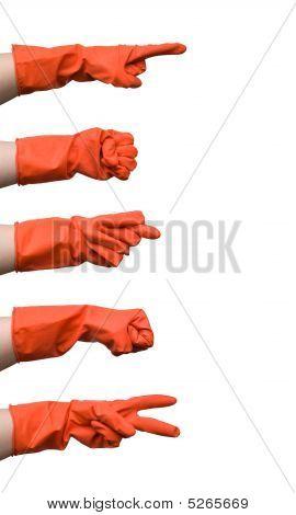 Red Glove Gestures