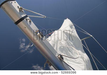 Sailboat Beam Closeup