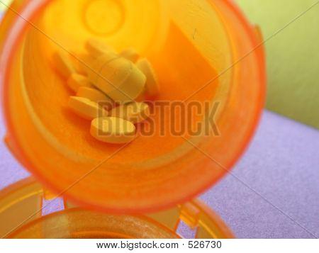 Multiple Pills In Script Bottle