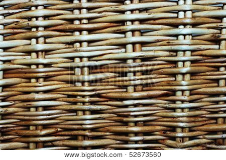 Abstract Background From A Wattle Fence