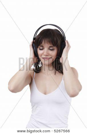 The Beautiful Smiling Music Fan