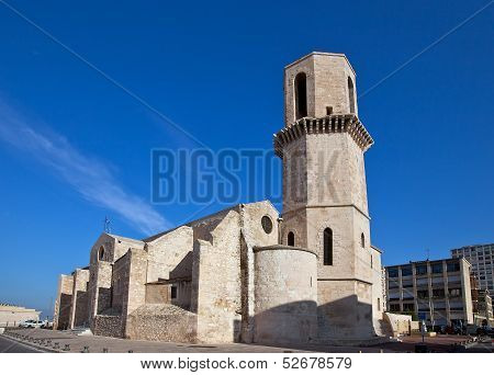Church Of Saint Laurent (xvii C.). Marseilles, France