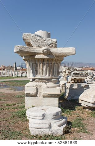 Agora Column (original  Capital)